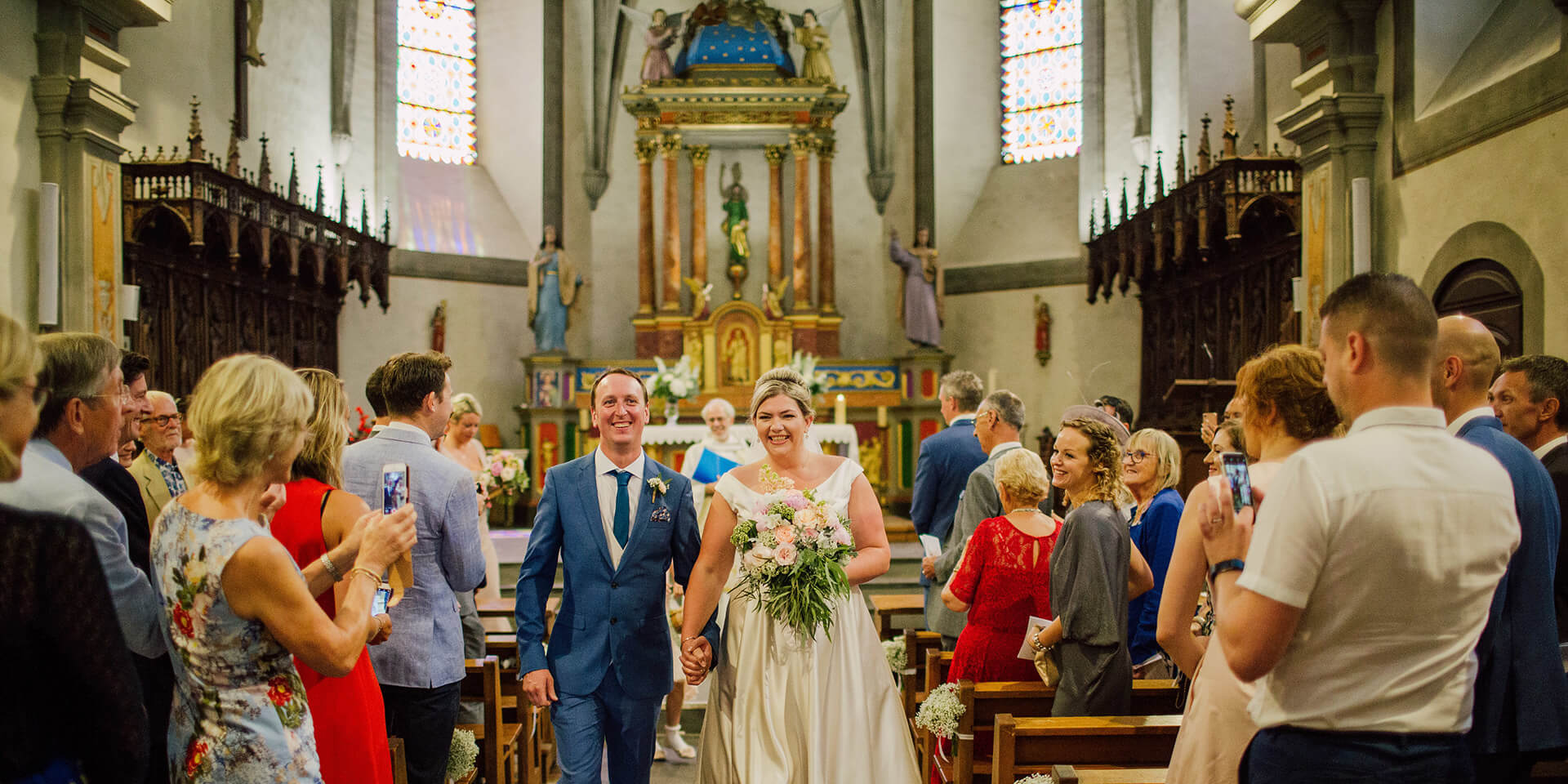 morzine church wedding