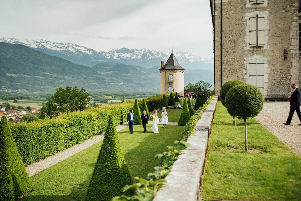 Wedding at Chateau du Touvet