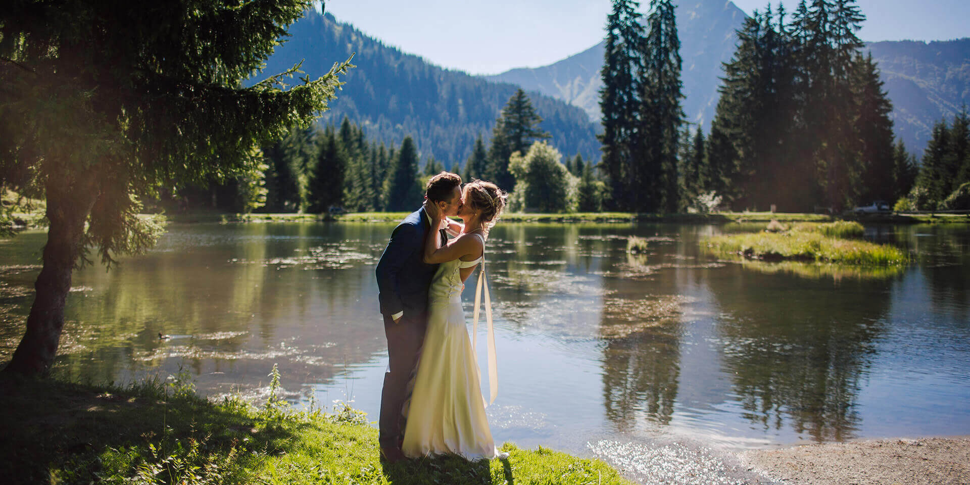 mountain wedding in the french alps