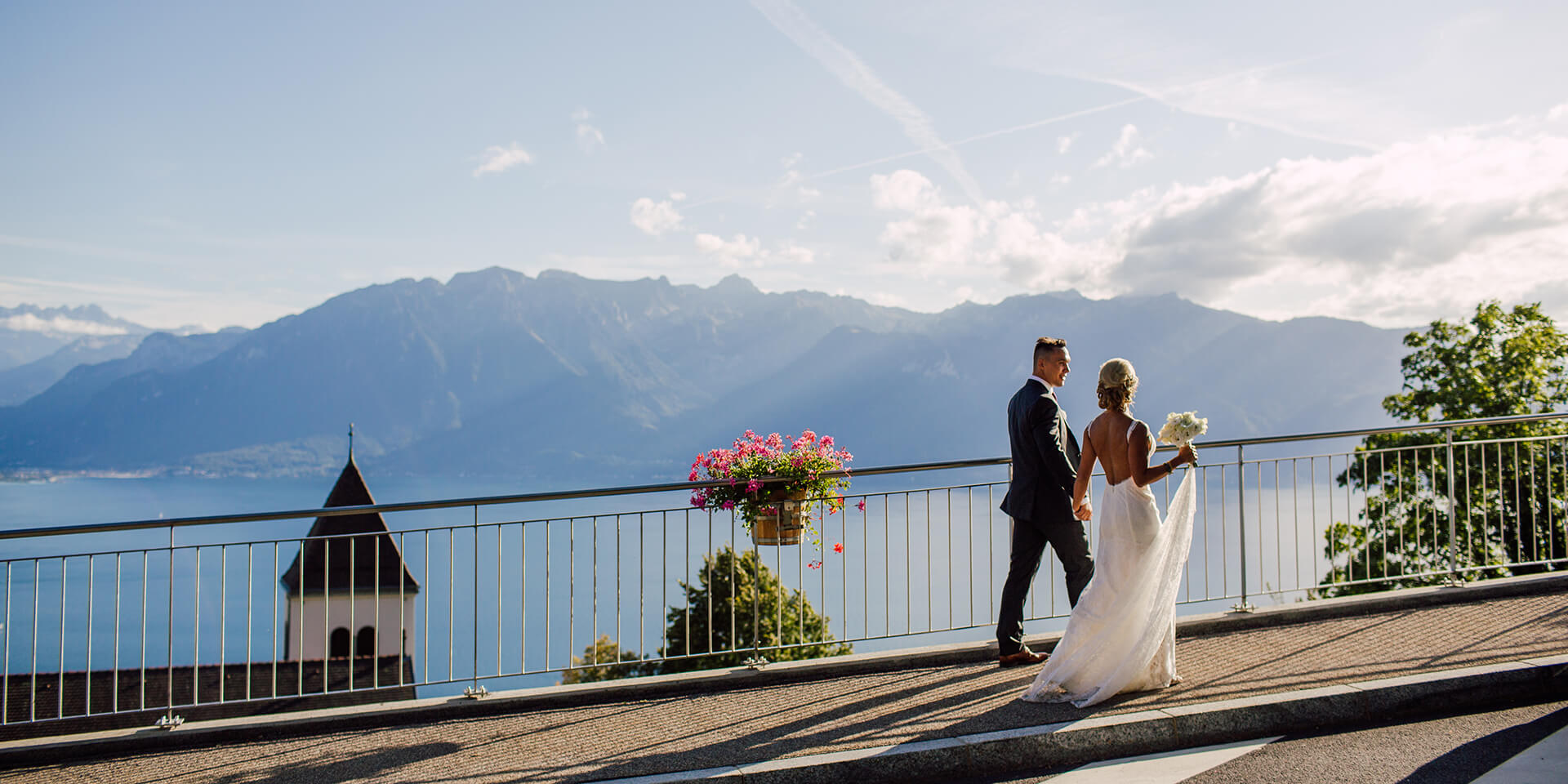 Vevey Montreux Swiss Riviera Wedding Photographer and Videographer